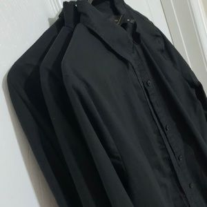 Black button up dress shirts.